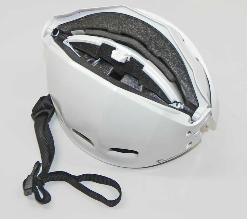 Overade helmet folded